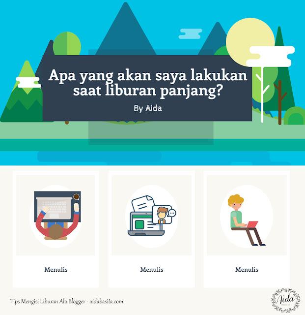 Tips Mengisi Liburan ala Blogger - Menulis