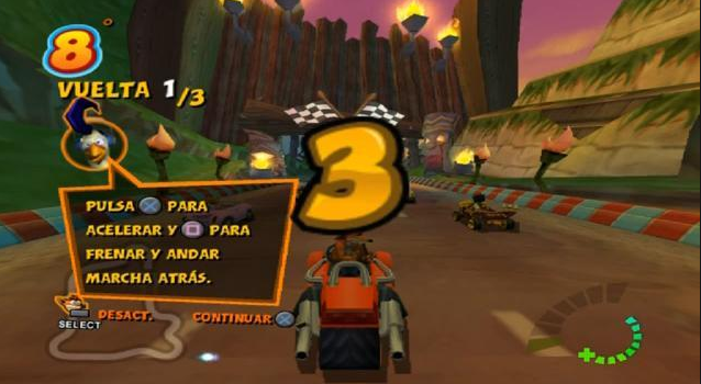 Crash Tag Team Racing PS2 PC