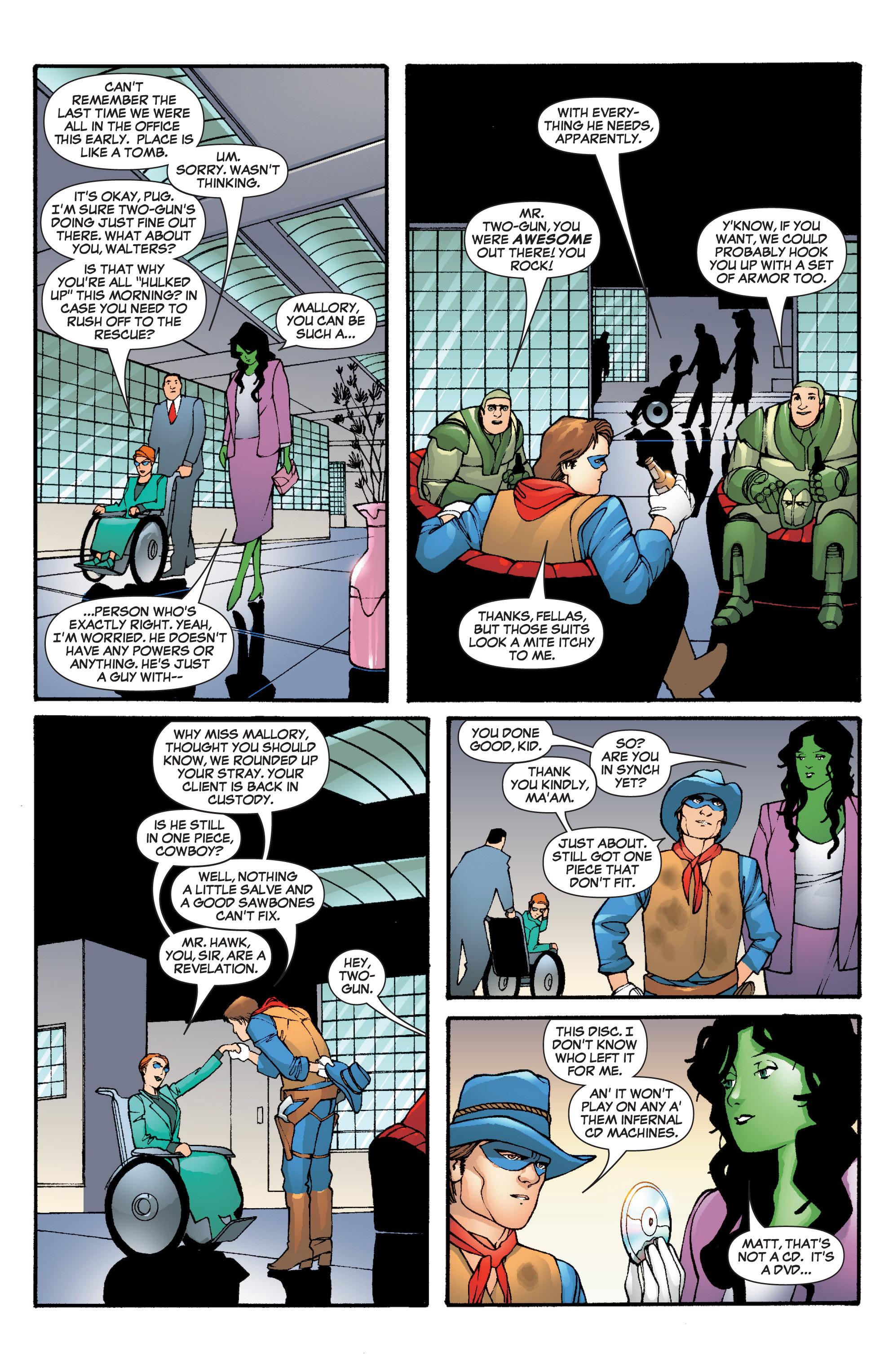 Read online She-Hulk (2005) comic -  Issue #5 - 22