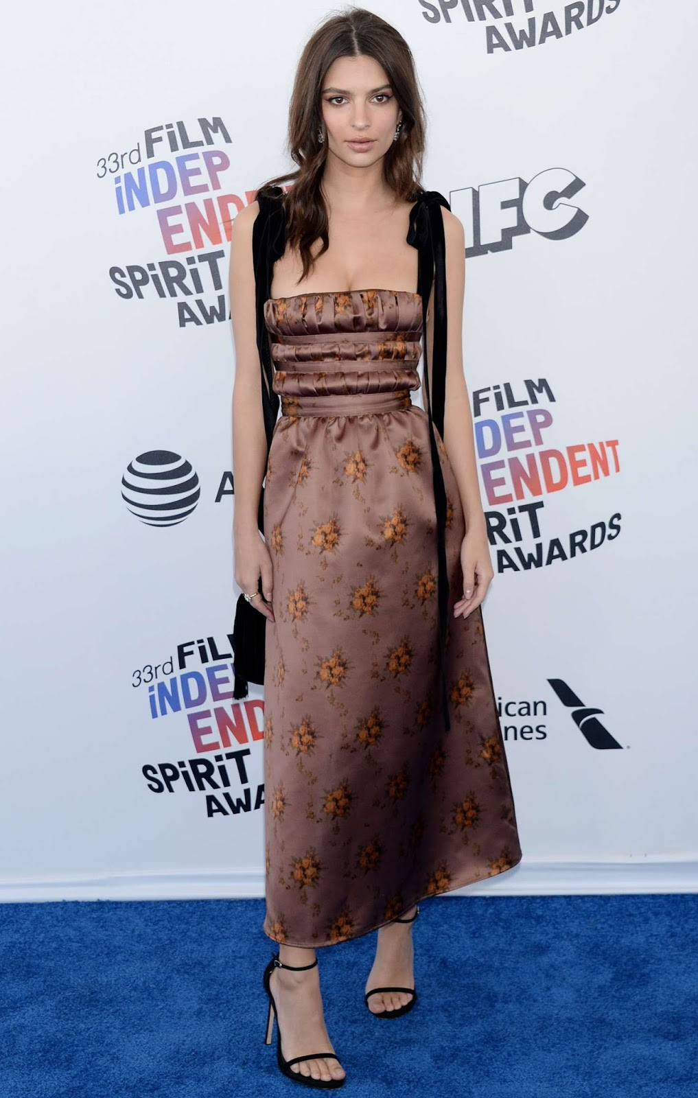 Emily Ratajkowski – 2018 Film Independent Spirit Awards in Santa Monica