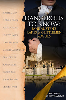 Book cover: Dangerous to Know: Jane Austen's Rakes & Gentlemen Rogues by various authors