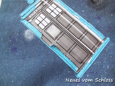 Dr. Who, Tüddelkram- Tasche, do4you, Tardis, Nerd- neuesvomschloss.blogspot.de