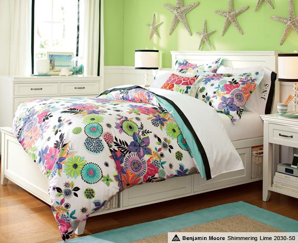 Pb Teen Girl Bedding: Tween Rooms