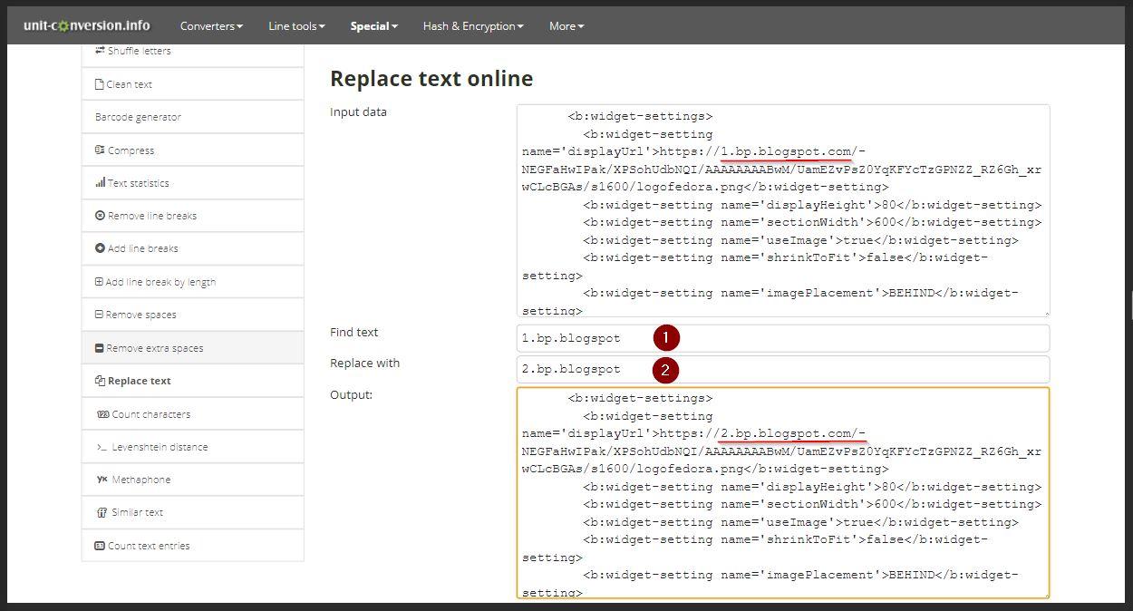 mengubahh domain image hosting blogger
