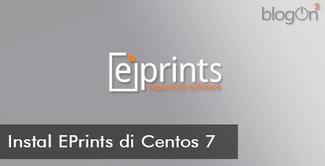 Instalasi Eprints Repository pada CentOS 7