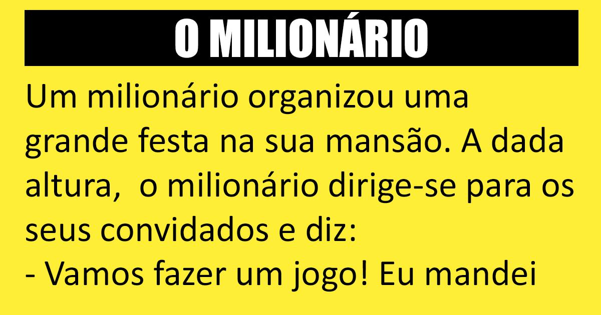 A casa do milionário