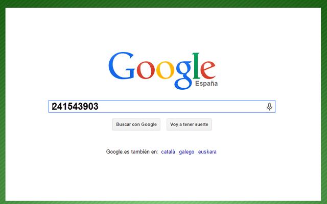 شاهد مالذي يحدث إذا كتبت الرقم معين في محرك البحث Google و الحدث الغريب في ذلك