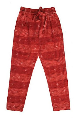 Ace & Jig Exclusive Stafford Pant in Cardinal