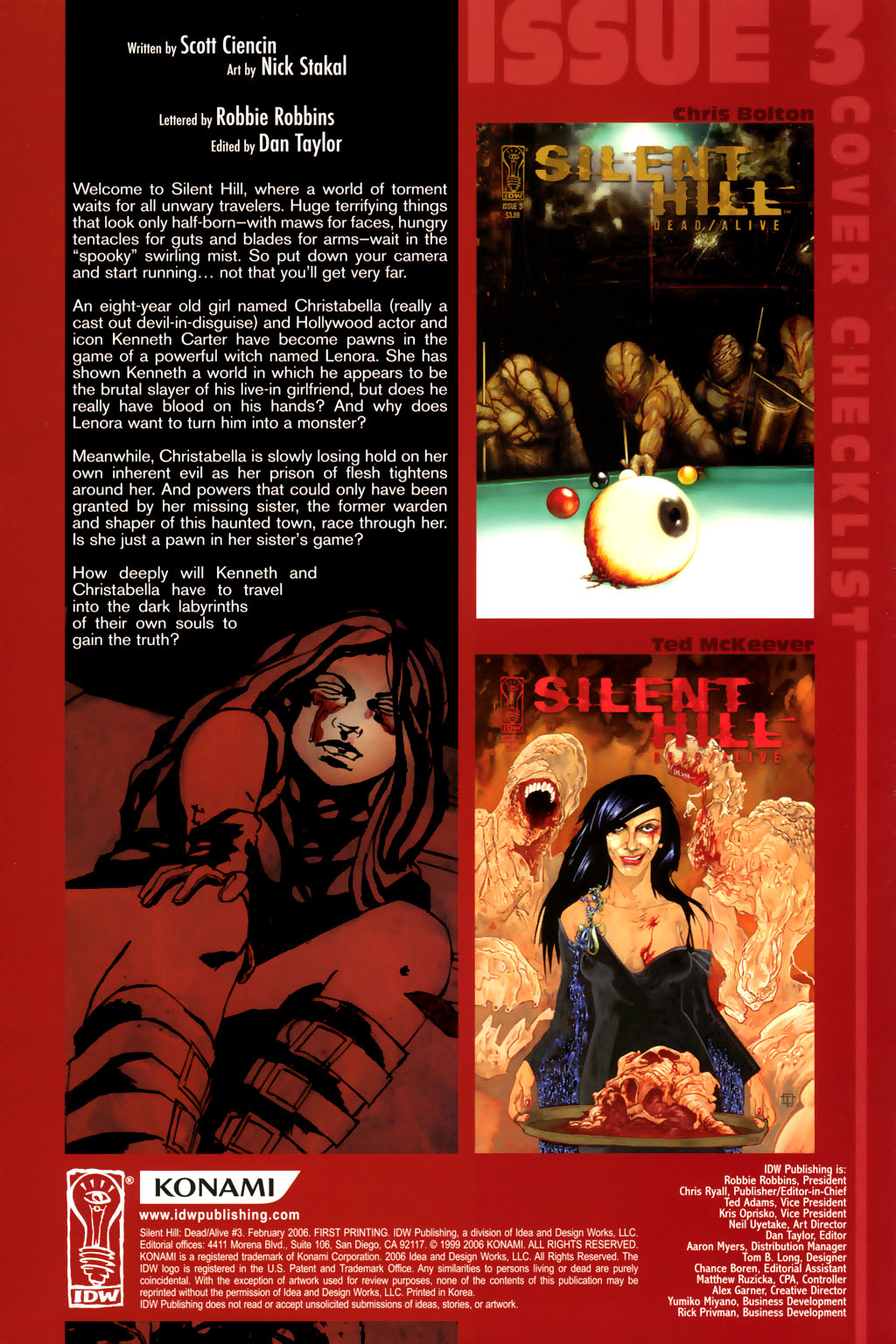 Read online Silent Hill: Dead/Alive comic -  Issue #3 - 3