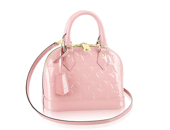 Louis Vuitton Rose Alma Bag