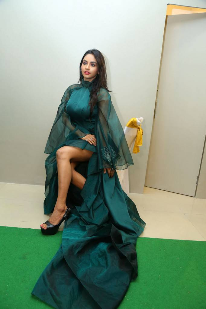 Actress Pooja Sri At Kanak Studio Launch Stills