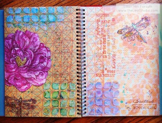 Mixed Media {Monday}: Gratitude Art Journal Part 2 - The ...