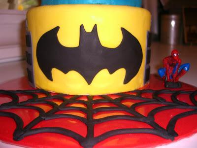 superman logo template for cake - super hero cake