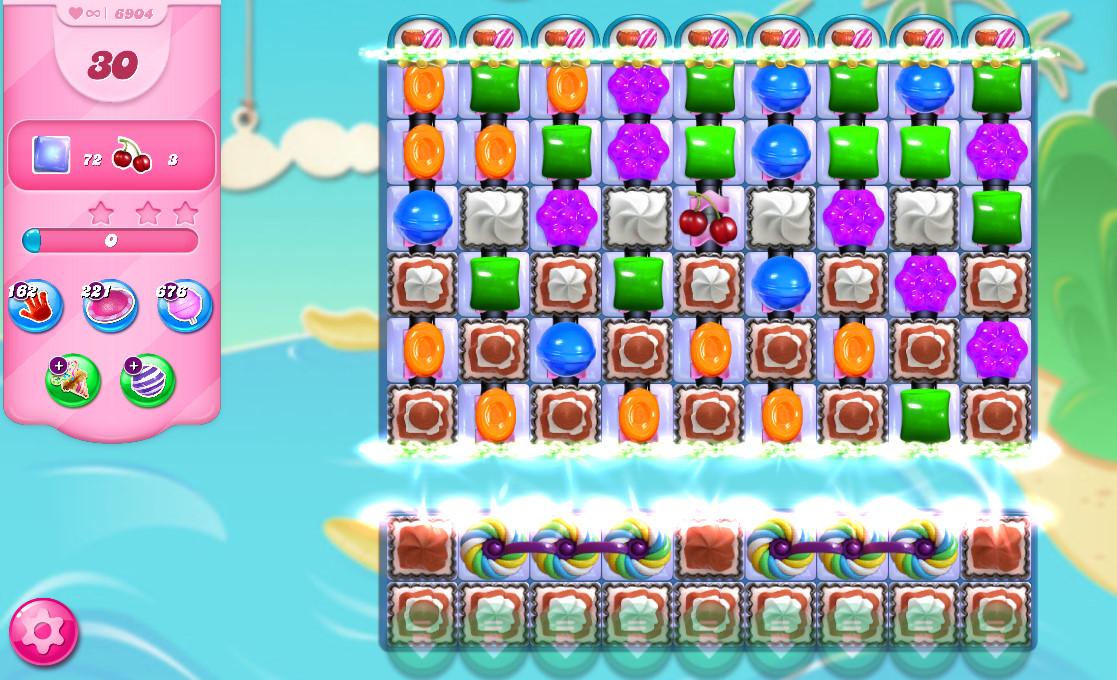 Candy Crush Saga level 6904