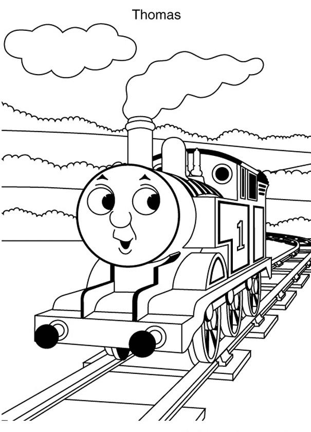 Martias Db21 Gambar Mewarnai Kereta Api Thomas