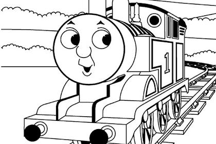 Semua Yang Terbaik Tentang Gambar Mewarnai Kereta Api Thomas