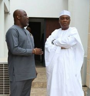 saraki and melaye