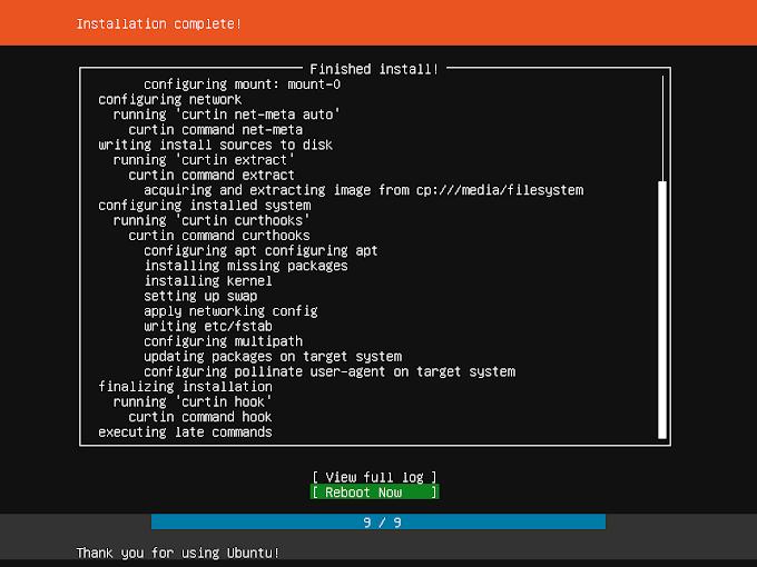 Installasi Linux Ubuntu Server 18.04 LTS