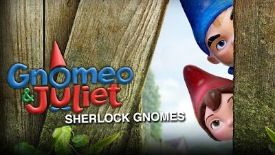 Will Ferrell will have competition-Gnomeo & Juliet, Sherlock Gnomes