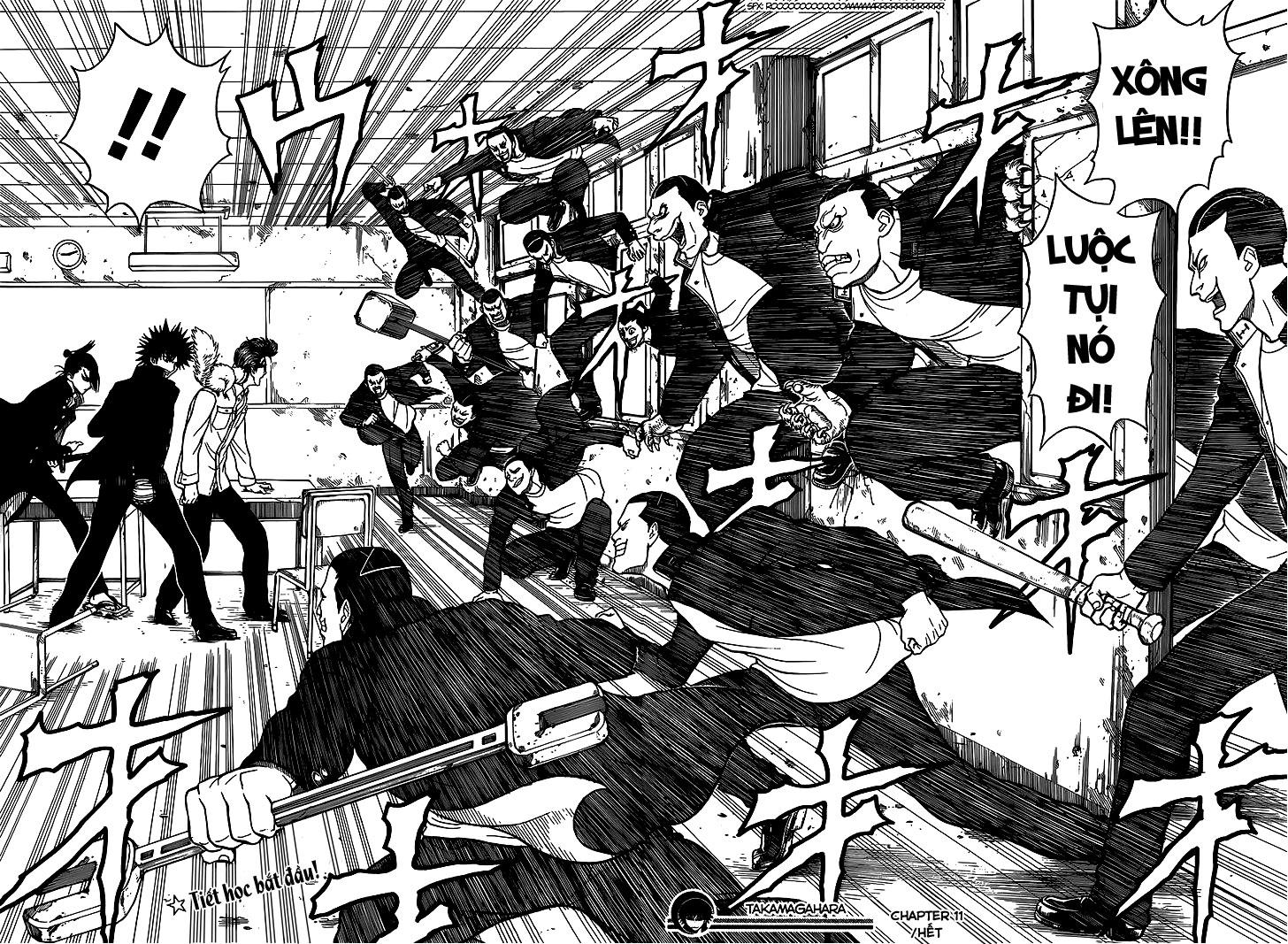 Takamagahara chap 11 trang 19