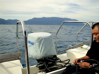 Tioman off the shore from Mersing
