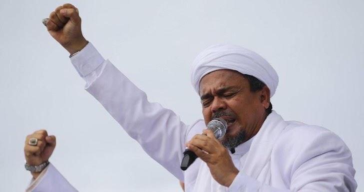 Polda Jabar Hentikan Kasus Penodaan Pancasila Habib Rizieq