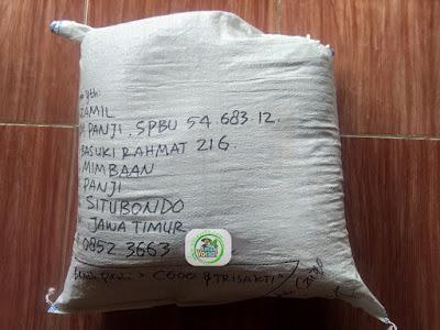 Benih pesana    MUZAMIL Situbondo, Jatim.   (Sesudah Packing)