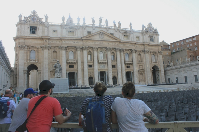 things to do in Rome; St Peter's Square