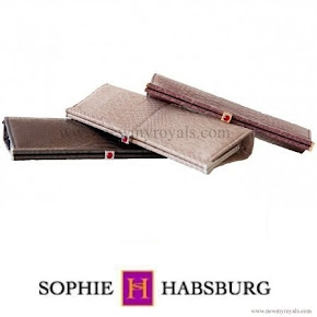 Countess Sophie of Wessex Style SOPHIE HABSBURG Amber Clutch