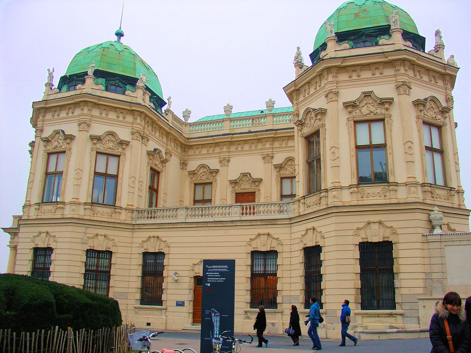 The Belvedere Palace in Vienna is home to Gustav Klimt's
