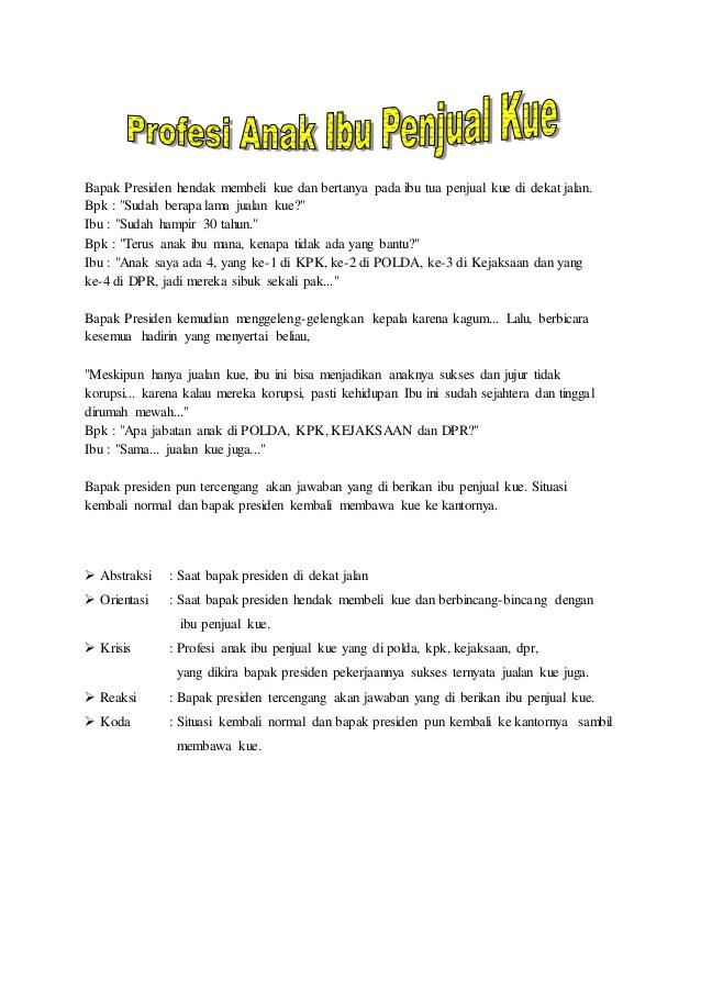 13 Contoh Teks Anekdot Beserta Strukturnya (Lengkap)