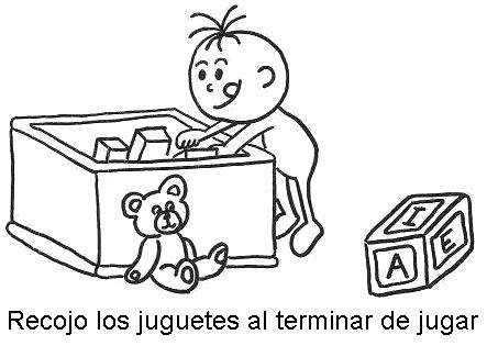recojer juguetes