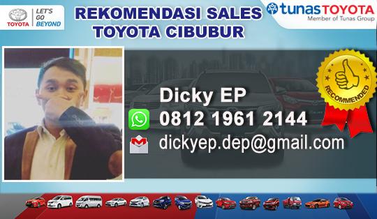 Rekomendasi Sales Toyota Cibubur Jakarta Timur
