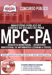 Baixar Apostila Concurso MPC PA 2019 PDF