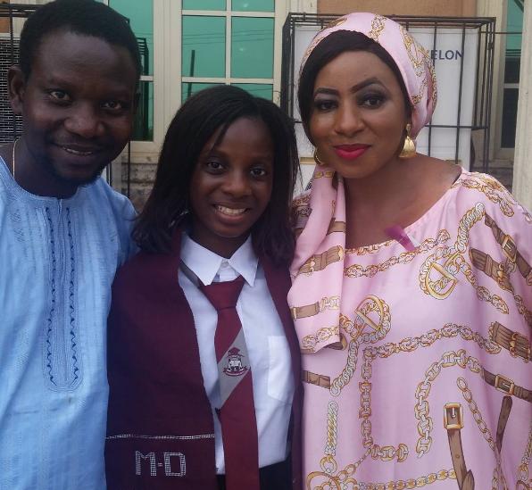 omotola abiodun graduates school