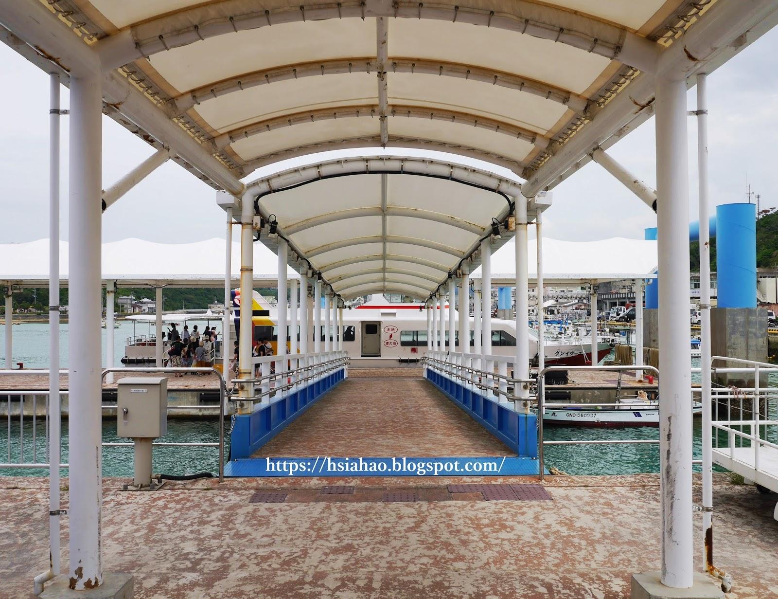 沖繩-水納島-渡久地港-渡輪-ferry-水納海灘-水納ビーチ-Minna-Beach-推薦-自由行-旅遊-Okinawa