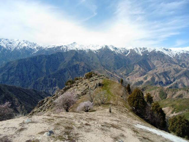 Верхняя Чайка, Варзоб, Горы Таджикистана - фото-обзор похода