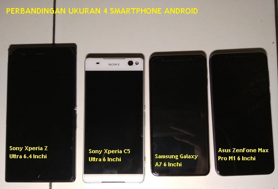 Perbandingan Smartphone Samsung, Sony dan Asus - Blog Mas Hendra