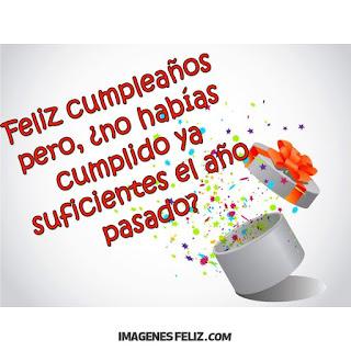 Feliz Cumpleaños Graciosas Chistosas