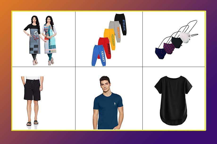 6 Bestsellers Clothing & Accessories on Amazon, best summer buy on amazon india