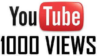 احصل على 1000 مشاهدة حقيقية الى اي فيديو لك على اليوتيوب بدون عمل اي شيء