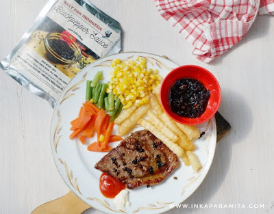 resep sirloin steak silly fish