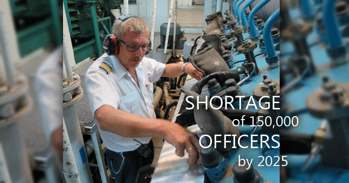 Shortage of Seafarer Officers Indicates from BIMCO/ICS