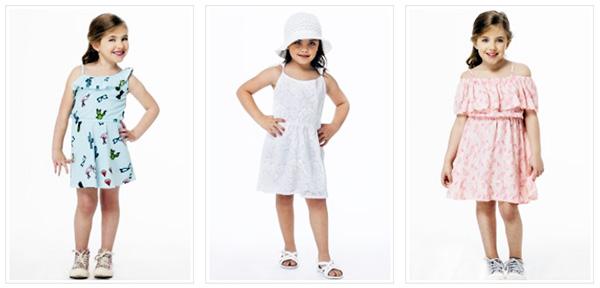 Vestidos de niñas primavera verano 2018.