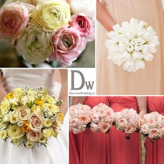 Какие бывают свадебные букеты? Советы и рекомендации для невесты.