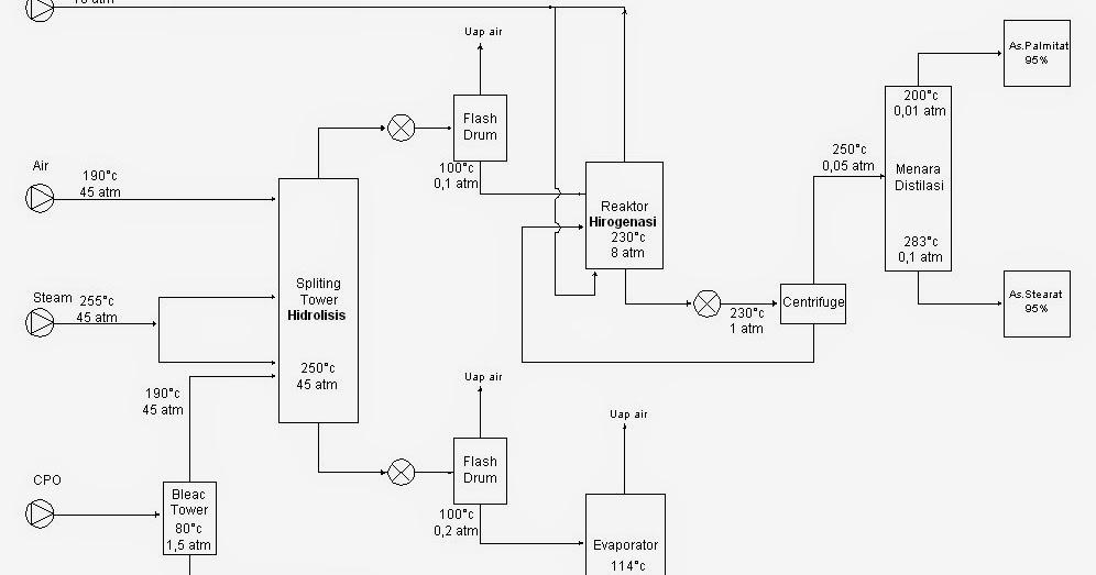 PraRancangan Pabrik Kimia: © Manufacture of Stearic Acid