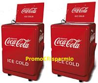 Logo Coca-Cola e Esselunga: vinci 40 Ghiacciaie Vintage