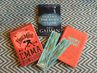 Mini book haul from Mermaid Tales Bookshop in Tofino, Vancouver Island