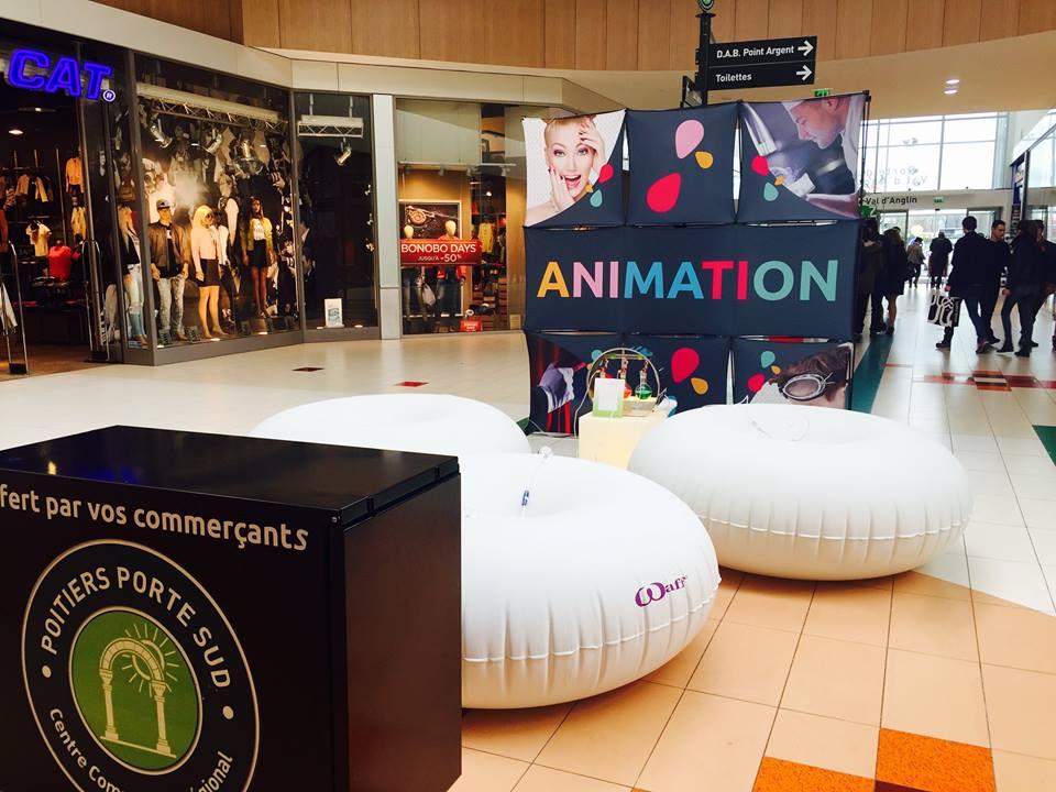Affordable marchandes des centres auchan comme le centre for Centre commercial poitiers porte sud