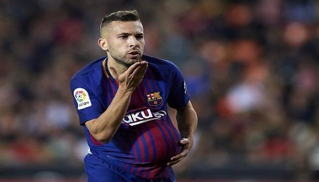 """برشلونة يعلن تجديد عقد """"ألبا"""" حتى 2024"""